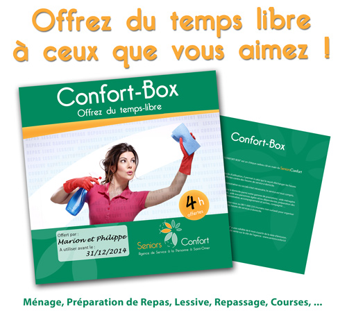 Confort box news de SeniorsConfort